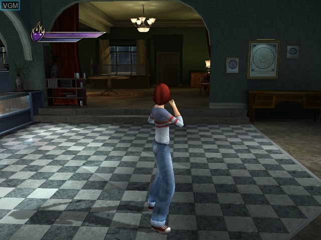 In-game screen of the game Buffy the Vampire Slayer - Chaos Bleeds on Microsoft Xbox