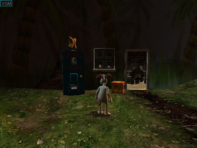 In-game screen of the game Wallace & Gromit in Project Zoo on Microsoft Xbox