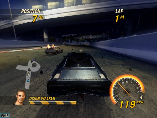 FlatOut 2 for Microsoft Xbox - The Video Games Museum