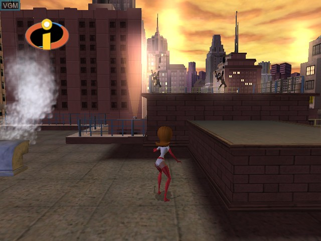In-game screen of the game Incredibles, The on Microsoft Xbox