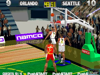 In-game screen of the game Dunk Mania on Zinc